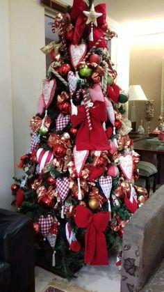 Minha Arvore Natal Corações