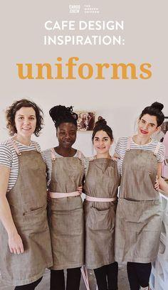 Cafe Uniform, Waiter Uniform, Hotel Uniform, Cafe Juan Valdez, Kellner Uniform, Café Design, Interior Design, Coffee Shop, Cafe Apron