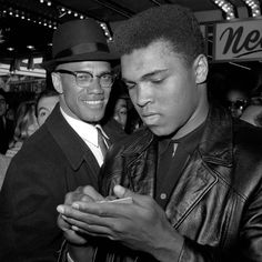 """Time elides the complexity of icons. Almost 51 years after his death,  Malcolm X  has become a T-shirt superhero of African American militancy: Malcolm carrying a rifle, Malcolm """"By any means necessary,"""" one hand raised above his bespectacled face. - Review When Malcolm X and Muhammad Ali's friendship changed history: The new book 'Blood Brothers' explains"""