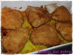 ratatui dos pobres: Deliciosos Cordon Bleu no forno