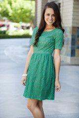 Maya Lace Dress from White Plum