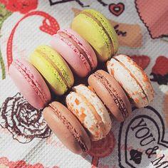 #макаруны #macarons #печенье #десерт #сладкое