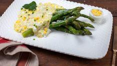 Asparagus with Egg Sauce (Asparagi con Salsa Bolzanina)
