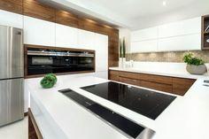 delectable Kitchen Design Ideas You'll desire to Steal. Small Modern Kitchens, Modern Kitchen Design, Modern House Design, Beautiful Kitchens, Home Design Decor, Küchen Design, Interior Design, Design Ideas, Family Kitchen