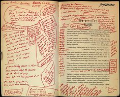 David Foster Wallace's annotated copy of Don Delillo's Players.
