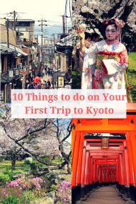 Kyoto the former Imperial capital of Japan is a must visit! Famous for its many temples, there is so much to do and see! Here are the 10 things not to miss.