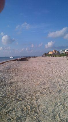 Sunrise Puerto Morelos early morning beach