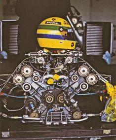 —– Legend —Ayrton Senna  ————- Lotus Renault ————-