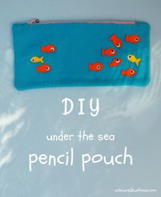 This easy to sew felt zip pencil case is a fun hand sewing project for kids! Halloween Crafts For Kids, Crafts For Kids To Make, Craft Activities For Kids, Kids Diy, Animal Pencil Case, Pencil Pouch, Pencil Cases, Handmade Birthday Gifts, Plushie Patterns