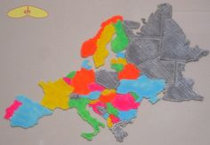 Europe map puzzle by chapulina.
