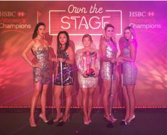 The best golfers in the world may be renowned for their laser vision  but its never looked quite like this! As part of its celebrations of ten years of HSBC Womens Champions the title sponsor invited five of the worlds top golfers to get their eye in by taking part in a spectacular laser show in downtown Singapore. Taking the stage for a show inspired by the iconic laser show at Marina Bay were some of the biggest names in womens golf including defending champion Ha Na Jang World Number One…