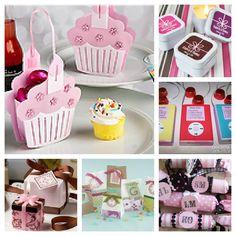 Mas ideas para souvenirs de cumpleaños. El detalle del Ipod realizado con un chocolate o caja de... pinned with Pinvolve