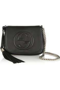 Gucci Soho Textured Leather Shoulder Bag