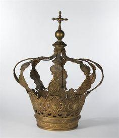 18th Century Crown Coroa Real / Portugal / Palácio Nacional de Mafra | source  : Matrizpix.dgpc