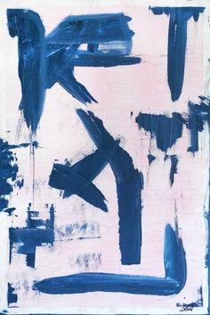 "Saatchi Online Artist: A C Gold; Acrylic, 2012, Painting ""Charcoal Pink"""