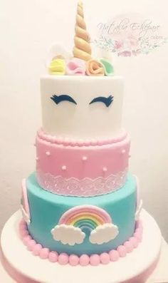 Trendy Baby Shower Food For Girl Snacks Sweets Baby Shower Food For Girl, Baby Shower Snacks, Baby Shower Desserts, Unicorn Baby Shower, Baby Shower Cupcakes, Shower Cakes, Girl Cupcakes, Unicorn Birthday Parties, Birthday Cake