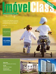 Revista ImóvelClass edição 94 Capa com empreendimento da linha VIDAVIVA, da Melnick Even, em Canoas.