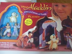 Disneys Aladdin Once Upon A Time Playset (1994) by Mattel. $29.99