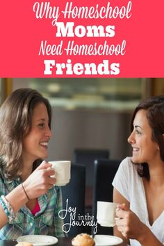 I have learned that many things are a part of making homeschooling successful. One of these is the importance of homeschool moms making friends with other homeschoolers.