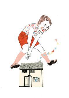 'Salta, salta conmigo! de Sonia Pulido, fantástica ilustradora, colaboradora habitual de El Semanal de 'El País'.