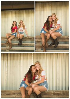 Blonde, senior portrait ideas, senior photography idea, field, university of texas, texas tech, best friends, off to college, ut, sister pictures, little sister, stock yards, fort worth, purple shoes, white frame, blue eyes Angela Wynn Photography