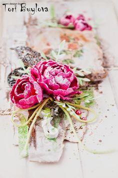 FLEUR design Blog: Цветочный МК от Виктории Буйловой.