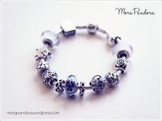 Pandora Spring Butterfly bracelet with the Floral Heart Padlock <3