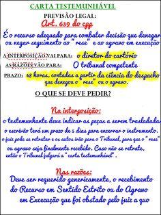 CARTA TESTEMUNHÁVEL