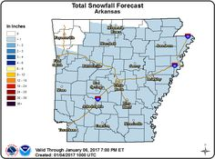 says For Central Arkansas Now Thru Thursday: Mostly Cloudy & Colder. Hi 41 & Lo 28. Hi Thu 39. Thu Ngt Thru Fri Ngt: Cloudy & Cold With Isolated To Widely Scattered Snow Flurries. Lo's 24 To 19 & Hi Fri 33. Sat Thru Tue: Sunny Mild Days & Clear To Pt.Cldy Cold Nights. Hi Sat 37. Lo's Sat & Sun Ngts 21-25 & Hi's Sun & Mon 39-46. Lo Mon Ngt 39 & Hi Tue 60. For Updates: http://www.weather4ar.org/ - DCP2