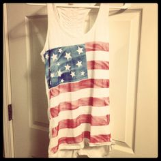 Homemade 4th of July Shirt