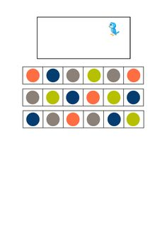 Tiles for the blue bird visual perception game. Find the belonging board on Autismespektrum on Pinterest. By Autismespektrum