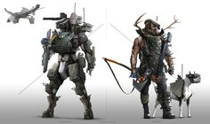 A look at different groups within the 05 universe. Always built this universe with different corporations,PMC, mercenary groups, warbands, bounty hunters big and small fighting it out looking for e...
