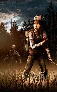 iPhone 5 - Video Game/The Walking Dead - Wallpaper ID: 550222 Walking Dead Saison 2, The Walking Dead Saison, The Walking Ded, The Walking Dead Telltale, Walking Dead Art, Walking Dead Season, The Walking Dead Movie, Interactive Story Games, Clementine Walking Dead