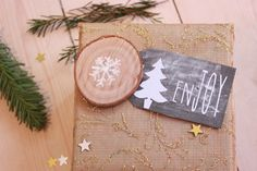 Holiday Gift Tag Printables || Chalkboard {free download}