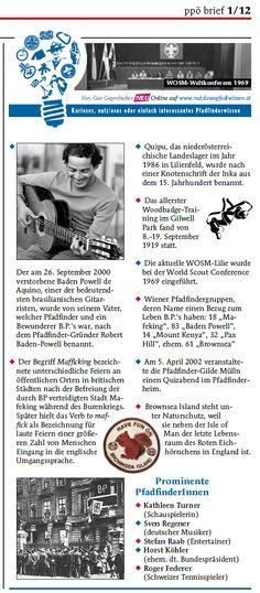 Nutzloses Pfadiwissen im PPÖ-Brief, Frühjahr 2012 Inka, Art, Boy Scouts, Lilies, Art Background, Kunst, Performing Arts, Art Education Resources, Artworks