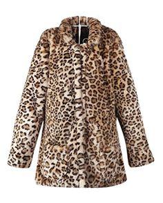 e8d1f1923a 2016 new arrival leopard long coat winter autumn women sexy fur coat Jacket  Long cardigan Faux fur coat winter female Fur Coat