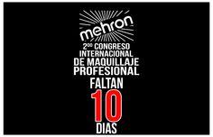 FALTAN 10 Y CONTANDO PARA EL MEJOR DIA DE TU VIDA.!!  MAS DE 300 COLEGAS EN UN MISMO LUGAR.. COMPARTIENDO Y RENOVANDO SU TECNICA. 2DO CONGRESO INTERNACIONAL DE MAQUILLAJE MEHRON 2016   Más Información Tel. (668)812.95.44 Lada Sin Costo 01800 839 0811 ventas@mehron.com.mx