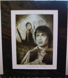 COA Lord of the Rings Frodo Ltd. Ed. Print is going up for auction at  1pm Tue, May 14 with a starting bid of $100.