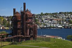 Seattle Gas Works Park. This is my favorite place to hang out at when the sun is shining.