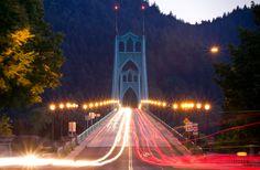 St. Johns Bridge, Portland Mission Control, Portland, Bridge, Building, Photography, Travel, Photograph, Viajes, Bridge Pattern