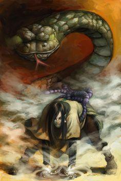 Orochimaru - Naruto,Anime