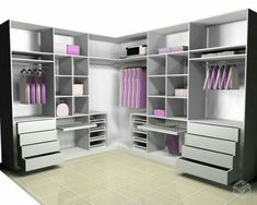 53 Design Wardrobe That Is In Trend - Home-dsgn Walk In Closet Design, Bedroom Closet Design, Master Bedroom Closet, Closet Designs, Bedroom Decor, Bedroom Wardrobe, Wardrobe Closet, Closet Layout, Bedroom Cupboards