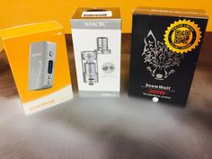 Koopor Mini, TFV4 Mini, and the Snow Wolf TC 200W are being restocked as well!!