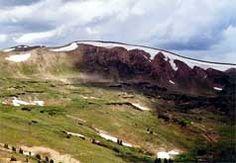 Loveland Pass - begins at 11,900ft, easy along the ridge