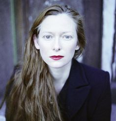 Tilda Swinton. Say what you will, she's a true artist.