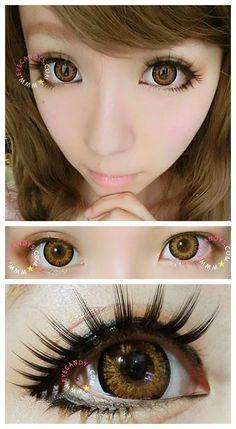 (http://www.eyecandys.com/geo-starmish-brown/) circle lenses~