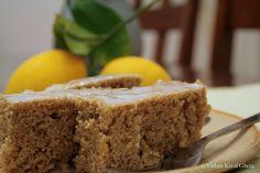 Lemon almond cake #vegan