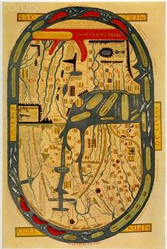 Beatus' map of the world