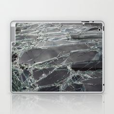 Broken Glass Laptop & iPad Skin by Fine2art - $25.00