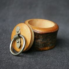 Oh I like this one. Looks like a knotted piece of wood turned into something to treasure.
